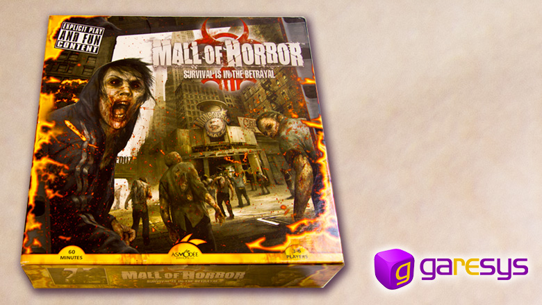 Caja de Mall of Horror