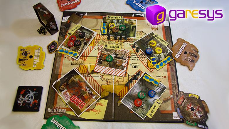 Mall of Horror partida
