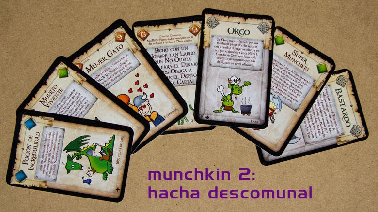 munchkin 2 hacha descomunal
