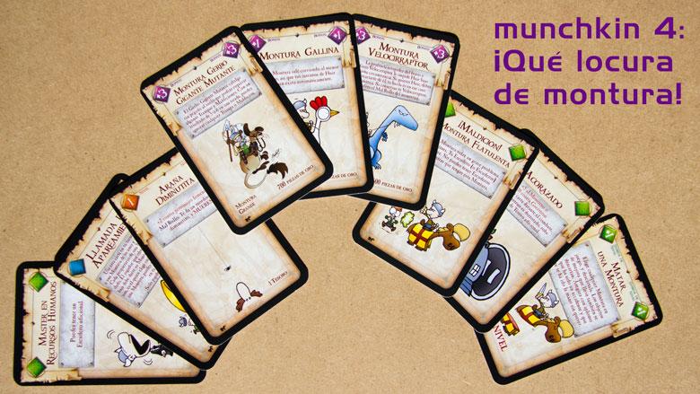 Munchkin 4: qué locura de montura