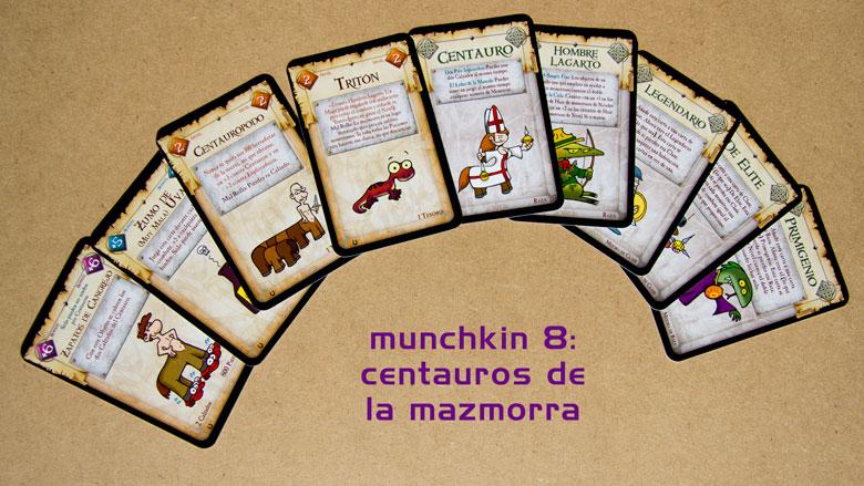 Munchkin 8 centauros de la mazmorra