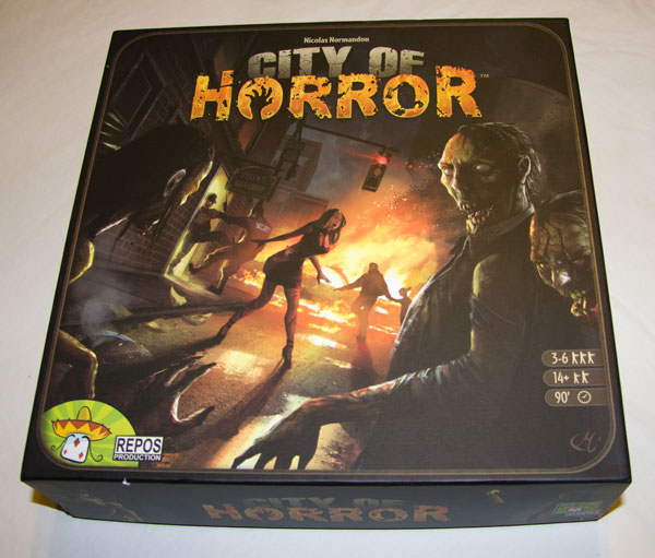 Caja de City of Horror