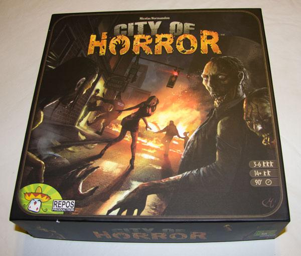 Caja de City of Horror