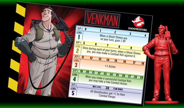 Ficha de jugador de Peter Venkman (Bill Murray)