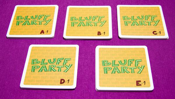 Cartas de Bluff party