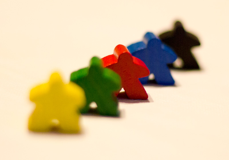 Meeples everywhere