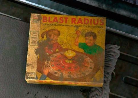 Blast Radius (Onda expansiva) encontrado en el Yermo