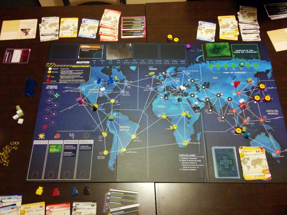 Partida de Pandemic: Legacy
