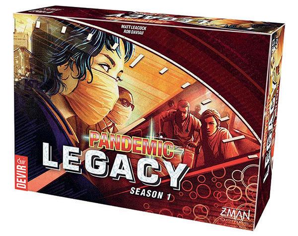 Pandemic: Legacy caja Roja