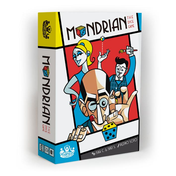 Mondrian caja