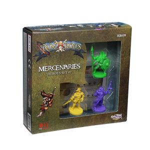 Rum & Bones: Mercenary Heroes Set 2